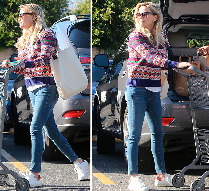 reese-witherspoon-christmas-sweater-bristol-farms-121414