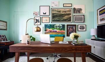 galeria-de-parede-verde