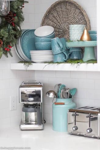 Gorgeous-Coastal-Lake-Style-Kitchen-decorated-for-Christmas-at-thehappyhousie.com-21