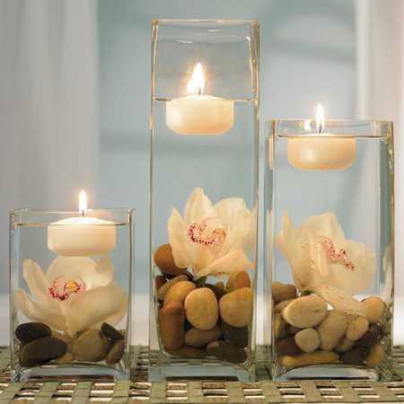 decoracao-de-casamento-com-velas-flutuantes