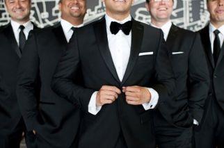 1-groom-bowtie-black-suit-groomsmen-ties