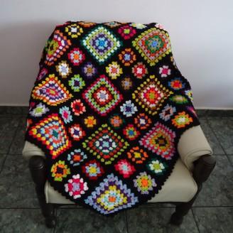 manta-de-croche-quadrados-coloridos-colorida