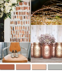 bronze-metal-colors-inspired-rustic-fall-wedding-ideas-2014-