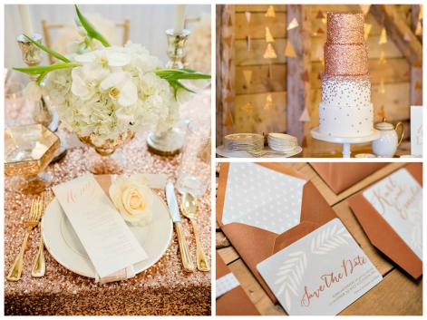 Metallic-Wedding-Decor