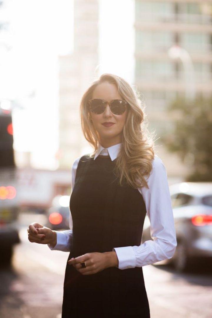 Sobreposição: Vestido + Blusa mangalonga